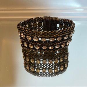 Metal Rhinestone Bracelet
